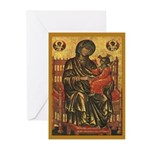 Madonna Ancient Icon Christmas Cards (10)