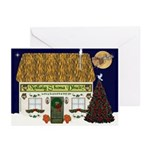 Irish Cottage Christmas Cards (10)
