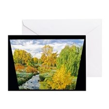 First Frost Willow Creek Greeting Card