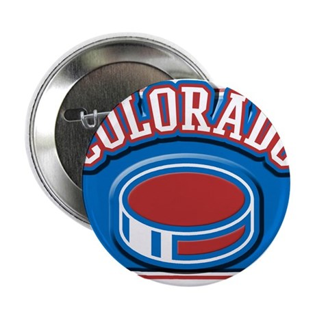 "Colorado Hockey 2.25"" Button"
