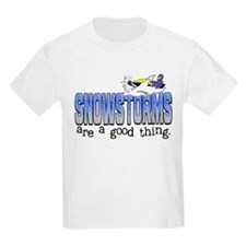 Snowstorms - Good Thing T-Shirt