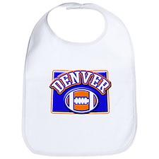 Denver Football Bib
