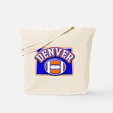 Denver Football Tote Bag