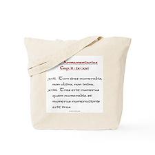 Book of Armaments Tote Bag