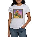 Buff Brahma Chickens Women's T-Shirt