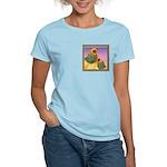 Buff Brahma Chickens Women's Light T-Shirt