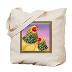 Buff Brahma Chickens Tote Bag