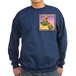 Buff Brahma Chickens Sweatshirt (dark)