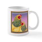 Buff Brahma Chickens Mug