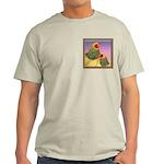 Buff Brahma Chickens Light T-Shirt
