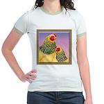 Buff Brahma Chickens Jr. Ringer T-Shirt