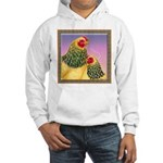 Buff Brahma Chickens Hooded Sweatshirt