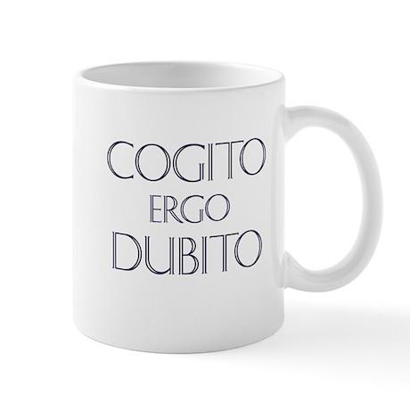 Cogito Ergo Dubito Mug
