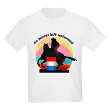 Barrel Racer Kid's T-Shirt
