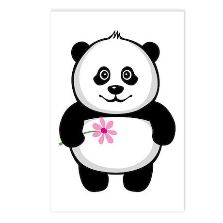 Little Panda Postcards (Package of 8)