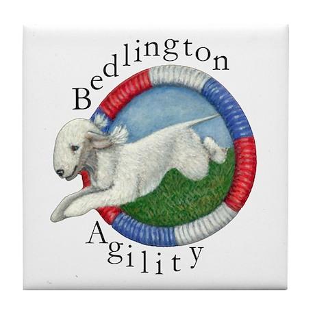Agility Bedli (lettering) Tile Coaster