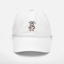 Mooo Cow Baseball Baseball Cap