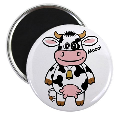 "Mooo Cow 2.25"" Magnet (10 pack)"