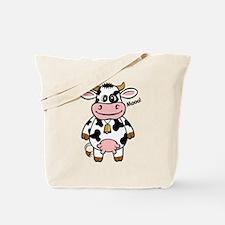 Mooo Cow Tote Bag