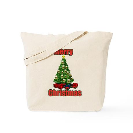 Merry christmas beer tree Tote Bag