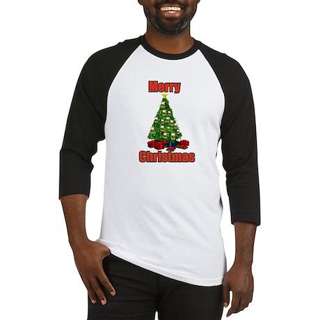 Merry christmas beer tree Baseball Jersey