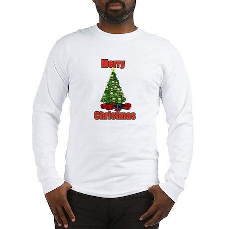 Merry christmas beer tree Long Sleeve T-Shirt