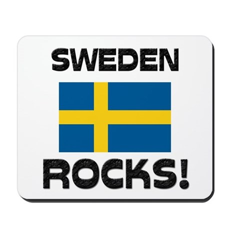 Sweden Rocks! Mousepad