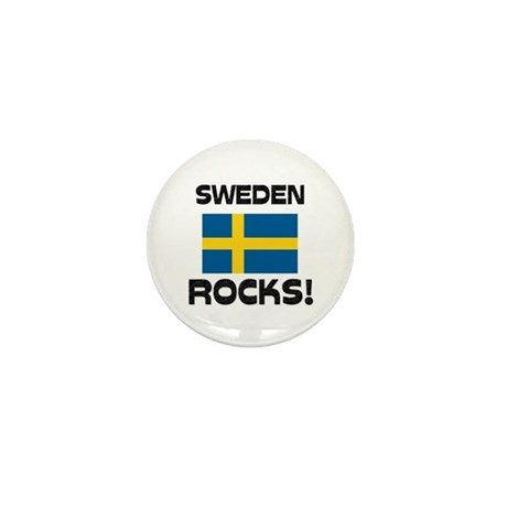 Sweden Rocks! Mini Button