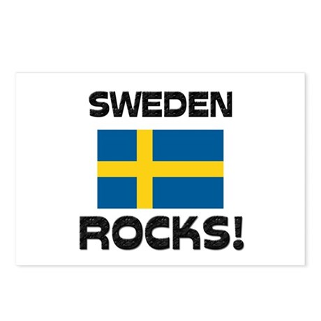 Sweden Rocks! Postcards (Package of 8)
