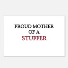 Proud Mother Of A STUFFER Postcards (Package of 8)