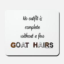 Goat hairs Mousepad
