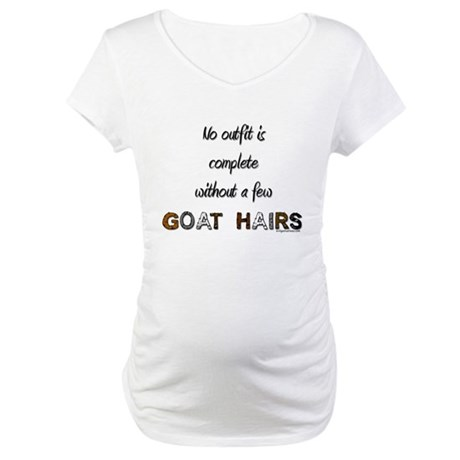Goat hairs Maternity T-Shirt