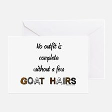 Goat hairs Greeting Card