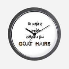 Goat hairs Wall Clock