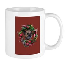 Border Terrier Warm Wishes Mug