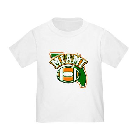 Miami Football Toddler T-Shirt
