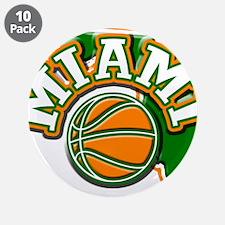 "Miami Basketball 3.5"" Button (10 pack)"