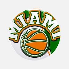 "Miami Basketball 3.5"" Button"