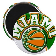 Miami Basketball Magnet