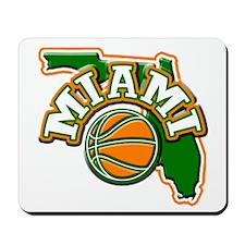 Miami Basketball Mousepad