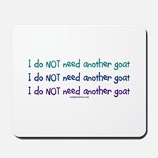 Another goat, funny Mousepad