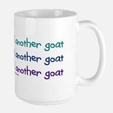 Another goat, funny Large Mug