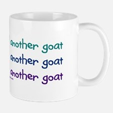 Another goat, funny Small Mugs