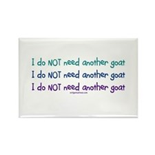 Another goat, funny Rectangle Magnet