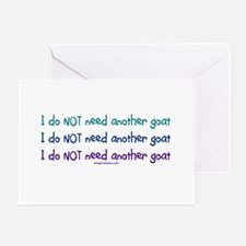 Another goat, funny Greeting Card