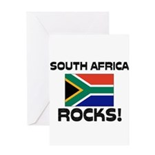 South Africa Rocks! Greeting Card