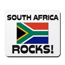 South Africa Rocks! Mousepad