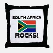 South Africa Rocks! Throw Pillow