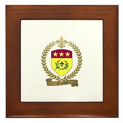 MIGNEAU Family Crest Framed Tile