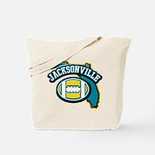 Jacksonville Football Tote Bag